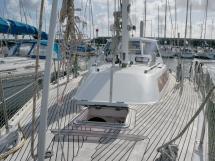 AYC Yachtbroker - Trintella 44 Aluminium - Pont et rouf