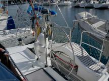 AYC Yachtbroker - Trintella 44 Aluminium - Cockpit barreur