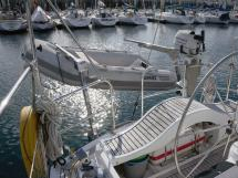 AYC Yachtbroker - Trintella 44 Aluminium - Bossoirs et annexe semi-rigide