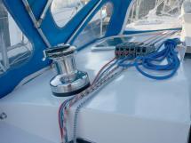 Patago 40 - Winch de rouf bâbord