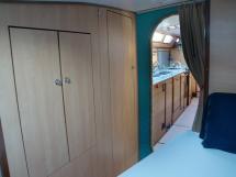 Patago 40 - Rangements de la cabine avant