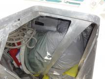 ALUMINIUM CUTTER 53' - Crashbox / Soute à voiles avant