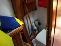 Alumarine 55 - Salle d'eau tribord