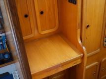 Alumarine 55 - Bureau de la cabine arrière tribord