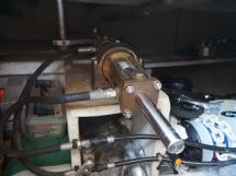 AYC - Trawler fifty 38 / Hydraulique pilote automatique