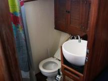Horizon 70 - Salle d'eau de la cabine arrière tribord