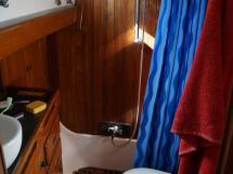 Horizon 70 - Salle d'eau de la cabine arrière propriétaire