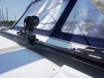 Sun Odyssey 54 DS - Rail d'écoute de grand-voile