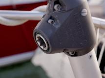 Bavaria 45 Cruiser - Ridoir de pataras à manivelle