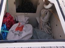 Bavaria 45 Cruiser - Soute à voile / baille à mouillage