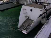 Cat Flotteur 45 - Jupe tribord