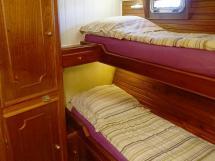 CCYD 75' - Cabine à couchettes superposées