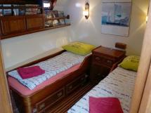 CCYD 75' - Cabine latérale à deux lits simples