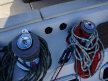 Garcia Salt 57 - Winches électriques tribord