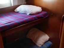 Garcia Salt 57 - Cabine latérale tribord à deux couchette superposées