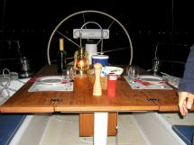 Universal Yachting 49.9 - Cockpit