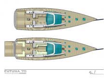AYC - Futuna 70 deck + platform