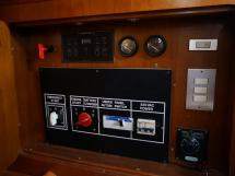 Grand Soleil 52 - Panneau de contrôle moteur