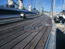 Grand Soleil 52 - passavant tribord teck