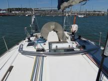 Dufour 44 Performance - Rouf et cockpit
