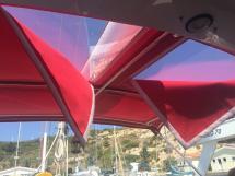 Nordia 65 - Bimini avec ouvrants de surveillance voiles
