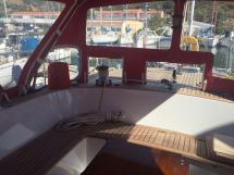 Nordia 65 - Fermeture toile cockpit