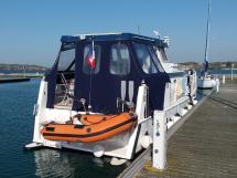 Meta Trawler 33 - Annexe et plateforme arrière