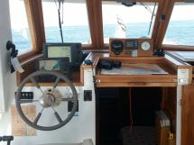 Meta Trawler 33 - Poste de barre