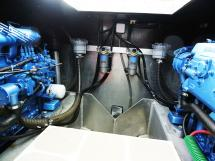 AYC Yachtbroker - Trawler Meta King Atlantique - Cale moteurs