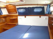 Horizon 70 - Cabine arrière - lit double et accès extérieur