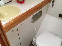 Cigale 16 - Salle d'eau tribord