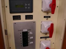 Alliage 48 CC - Panneau de contrôle groupe électrogène / coupe-circuits