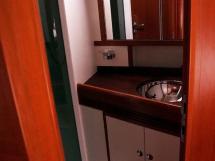 Alliage 48 CC - Salle d'eau privative de la cabine arrière