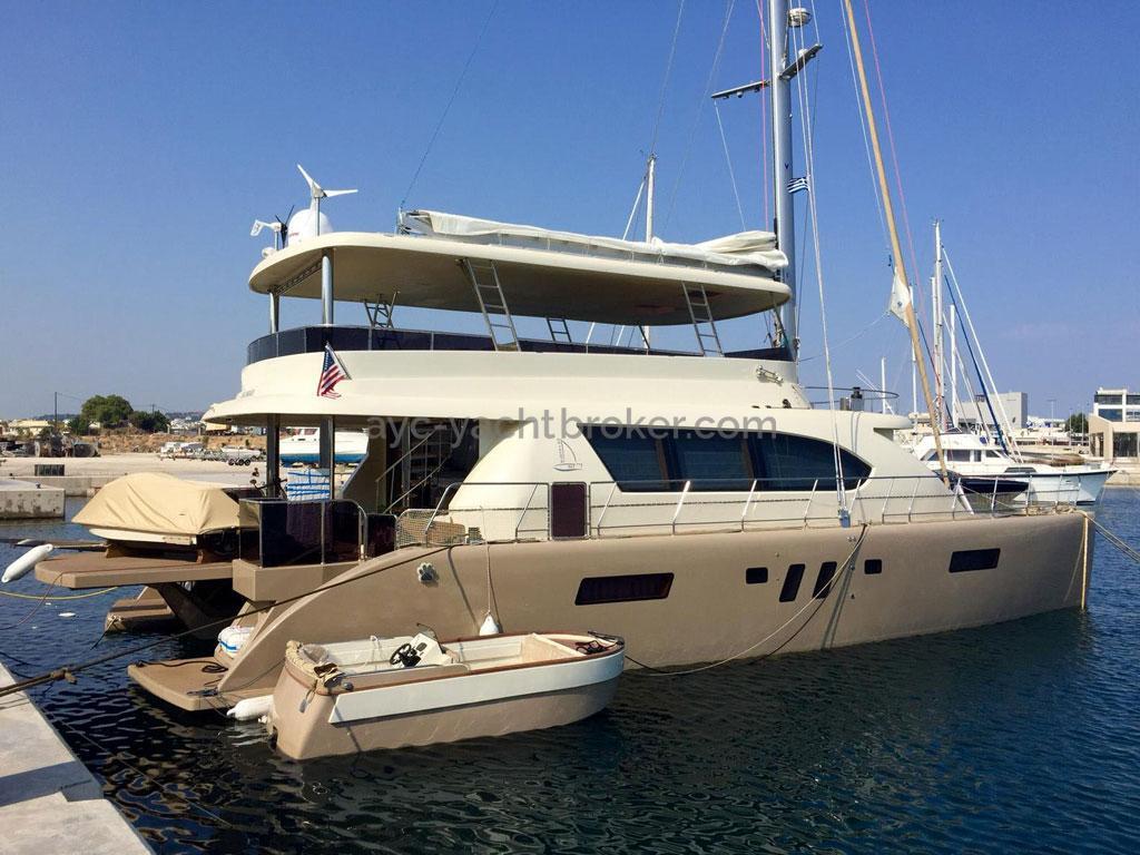 NG 66' Catamaran - Au ponton + annexe