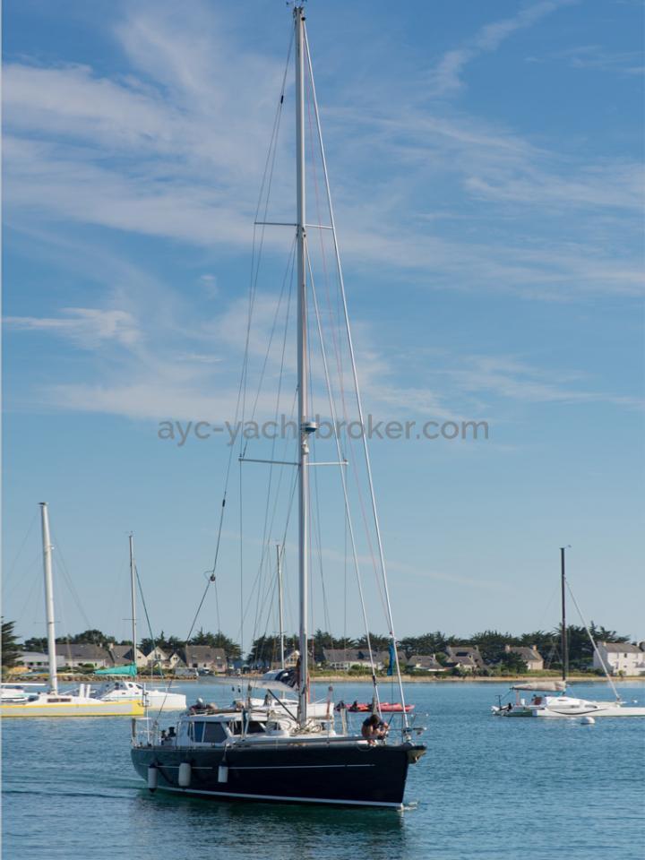 AYC Yachtbroker - JFA 45 Deck Saloon - Vue d'ensemble