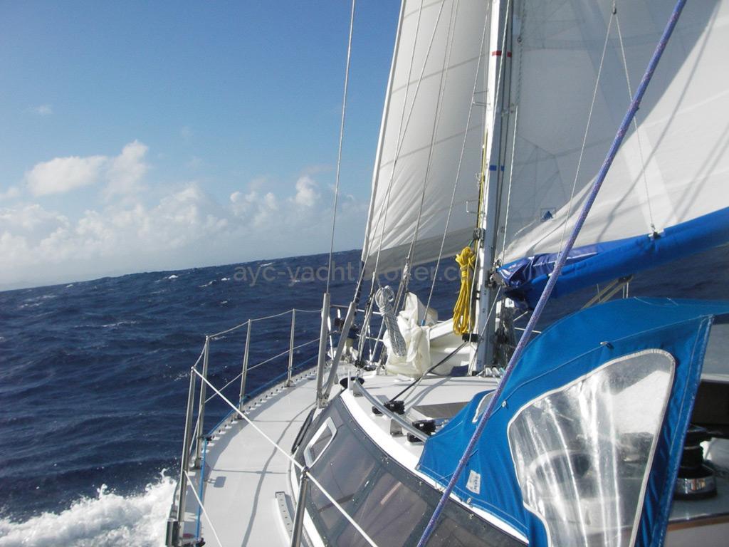 AYC Yachtbroker - Gael 43 - Passavant tribord