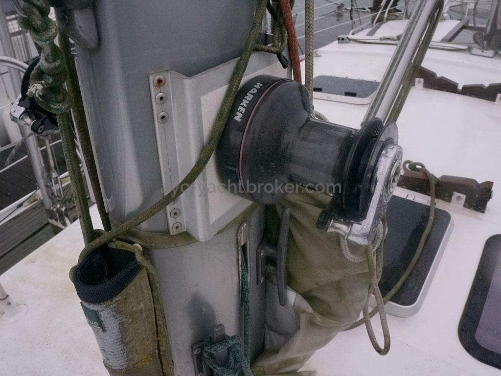 OVNI 455 - Winch de mât bâbord