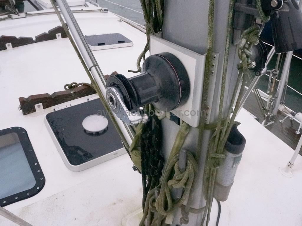 OVNI 455 - Winch de mât tribord