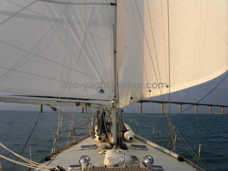 AYC - ISLANDER 55 Sous voiles 2