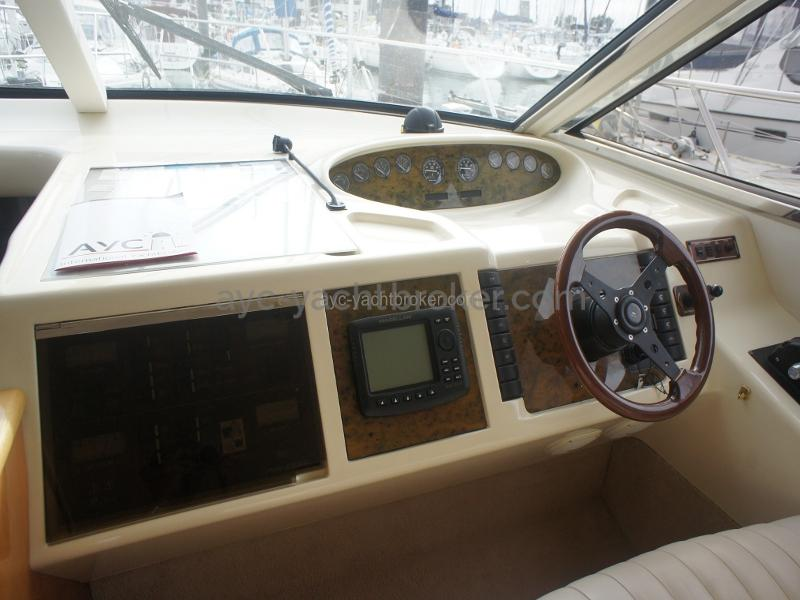 Poste pilotage intérieur