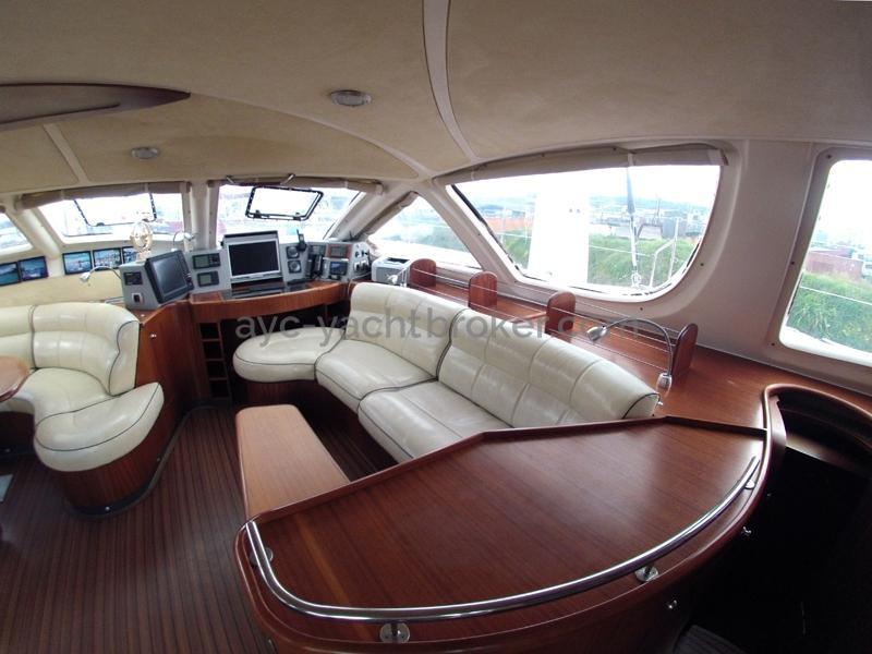 Catana 582 Caligo - Banquette tribord