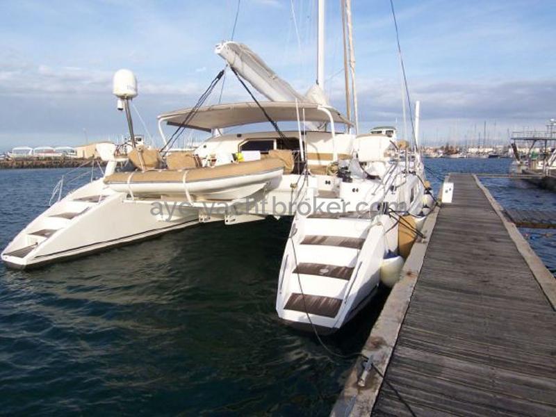 Catana 582 Caligo - Au ponton