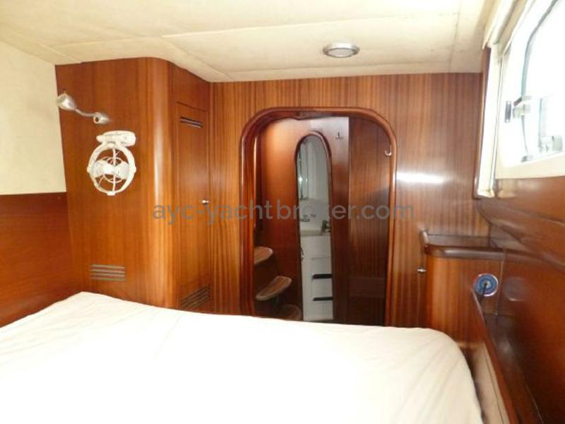 Catana 582 Caligo - Cabine avant bâbord