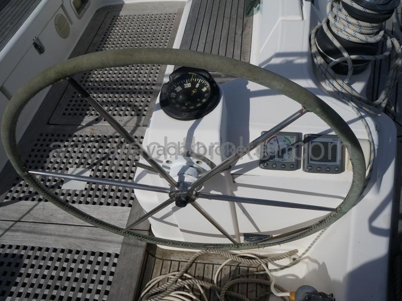 Poste de barre tribord