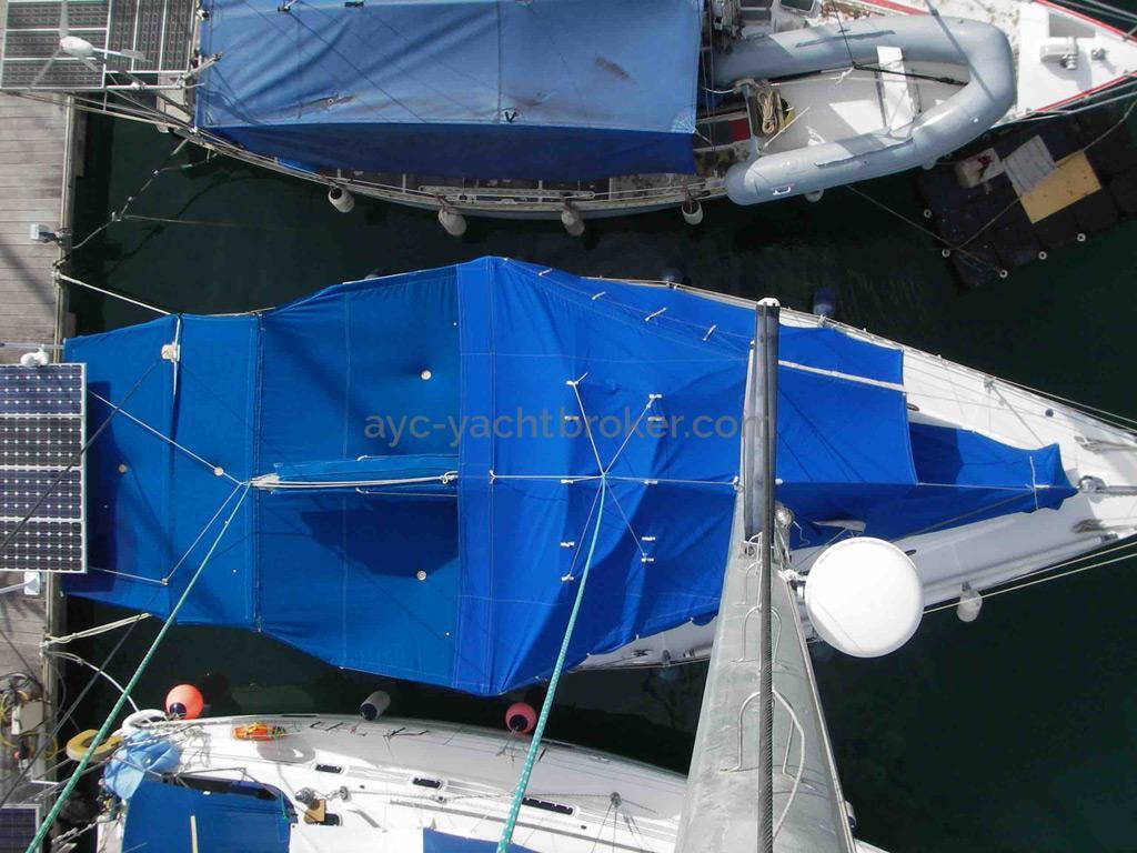 AYC Yachtbroker - Gael 43 - Taud de soleil intégral
