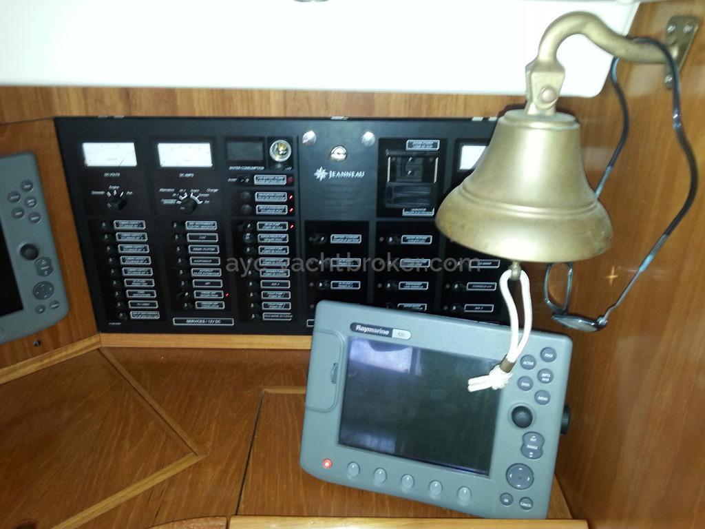 Sun Odyssey 54 DS - Tableau électrique