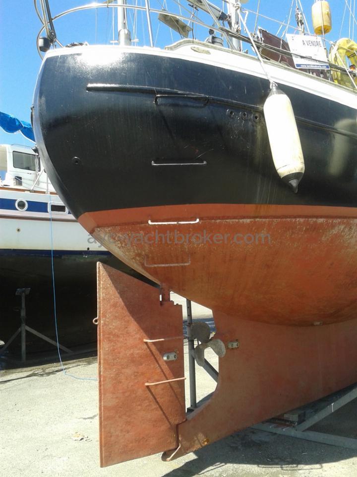 AYC Yachtbroker - Polar Bear  / Safran et hélice