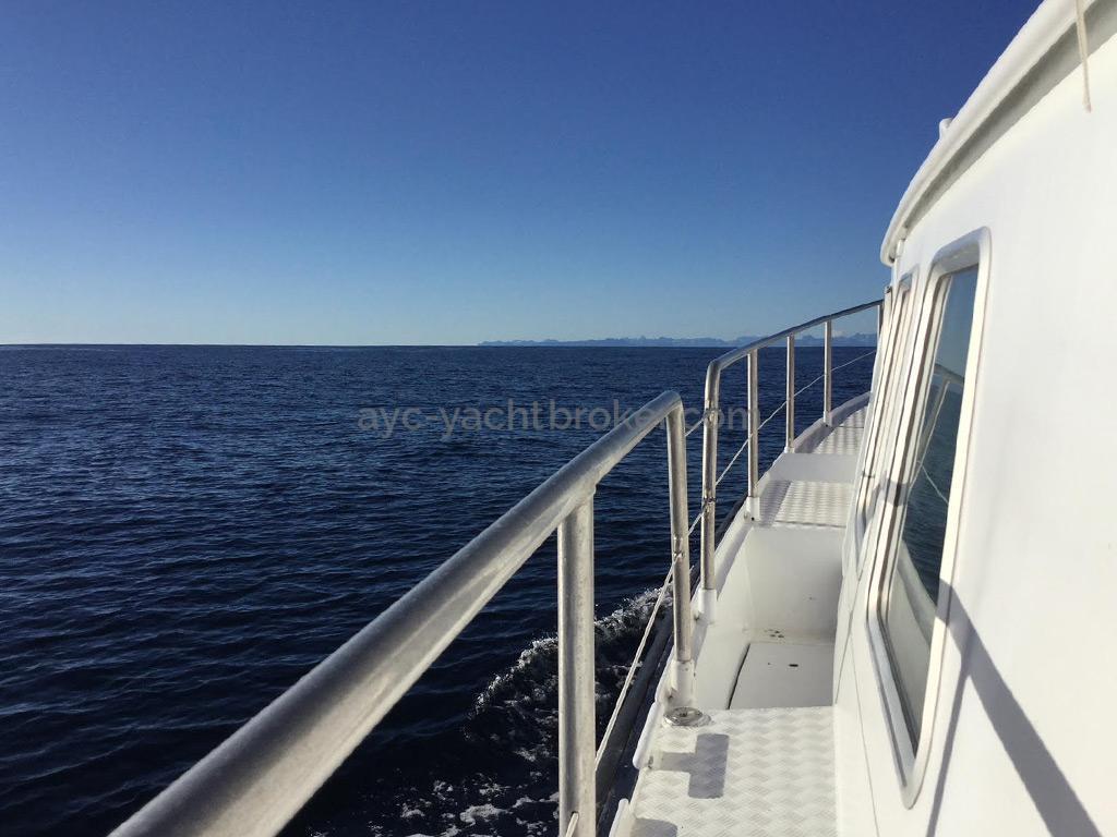AYC Yachtbrokers - Trawler Meta King Atlantique - Passavant bâbord