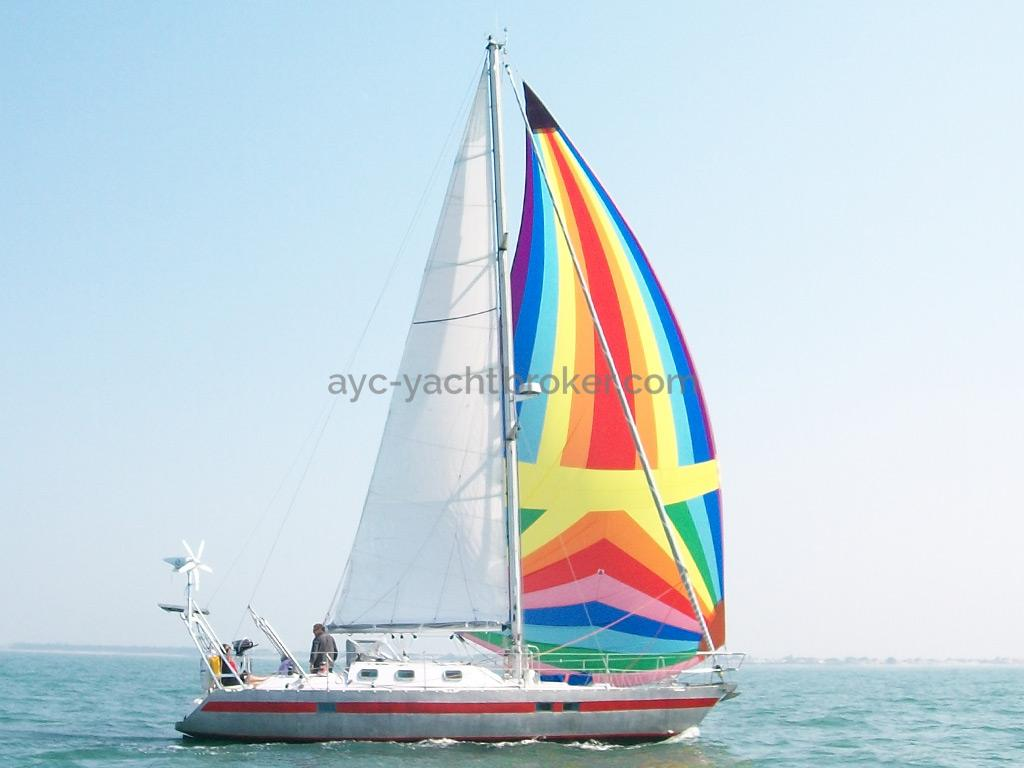 Carambola 38 - Sous voiles