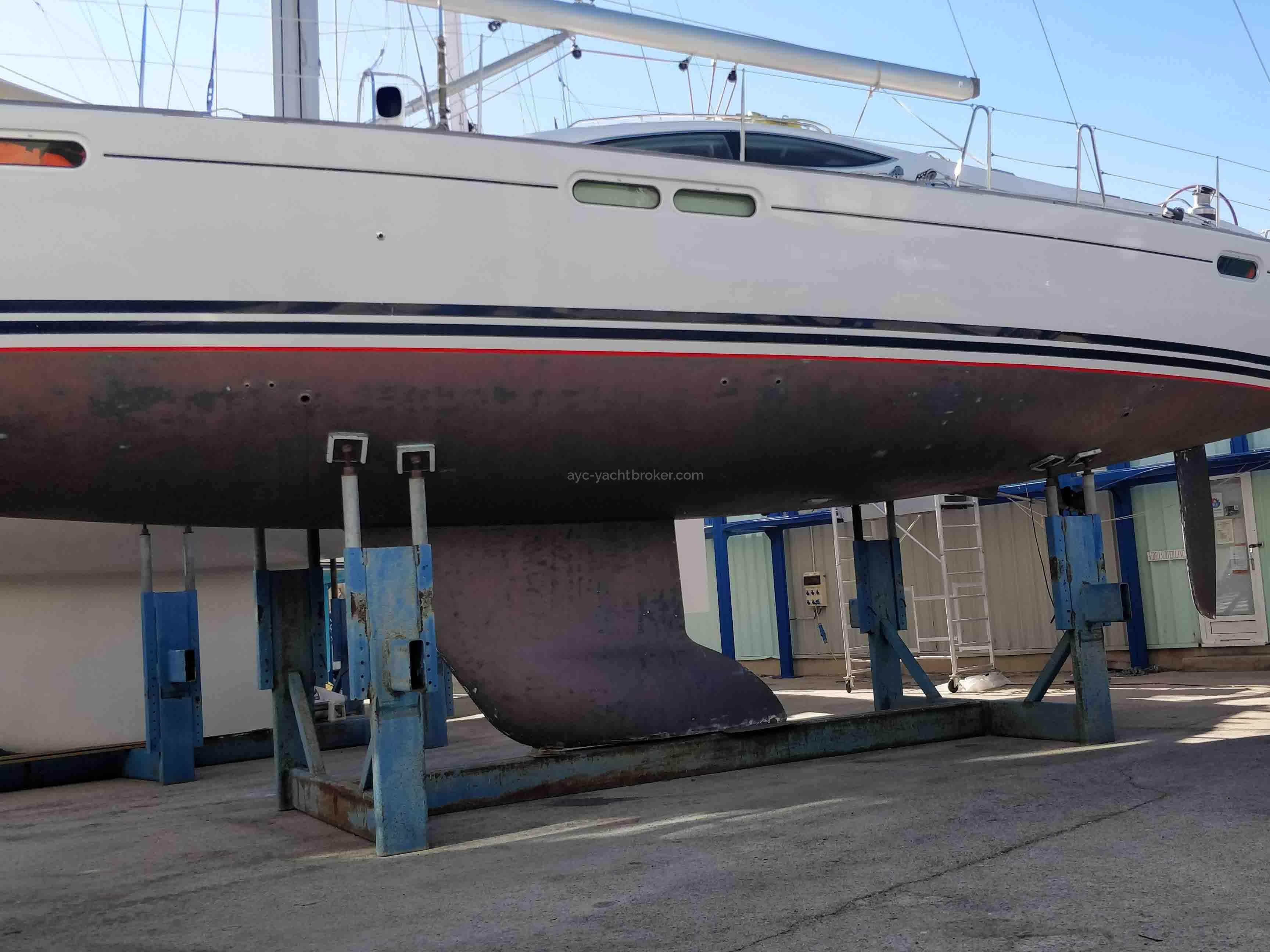 AYC International YachtBroker - SUN ODYSSEY 54 DS -